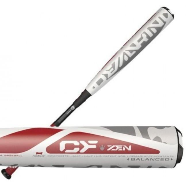 DEMARINI 2017 CF ZEN BBCOR ADULT BASEBALL BAT (-3) WTDXCBC-17