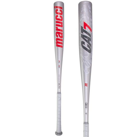 2020 Marucci CAT 7 Silver BBCOR Baseball Bat: MCBC72S