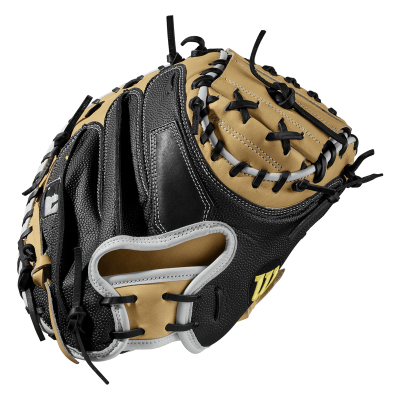 "Wilson A2000 SuperSkin 33.5"" Catcher's Mitt: WTA20RB19M1SS"