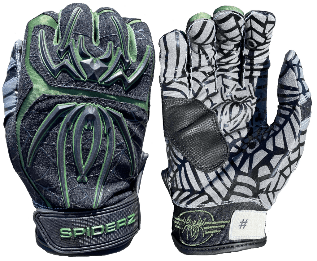 "2020 Spiderz HYBRID Limited Edition Batting Gloves: ""40 MIKE MIKE"""