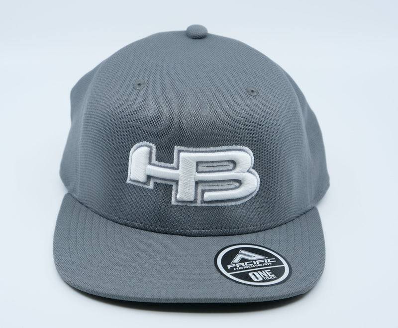 HB Exclusive OTX60 ONETOUCH Fitted Hat: 50 Shades of Gray