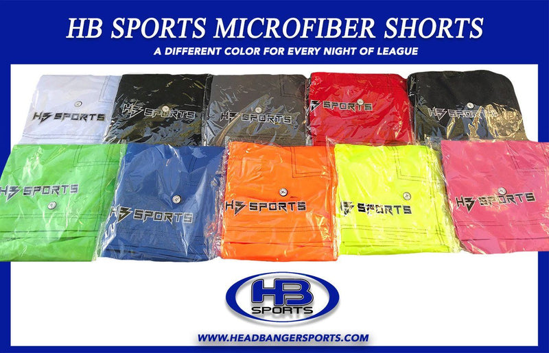 Microfiber Baseball and Softball Shorts at Headbangersports.com