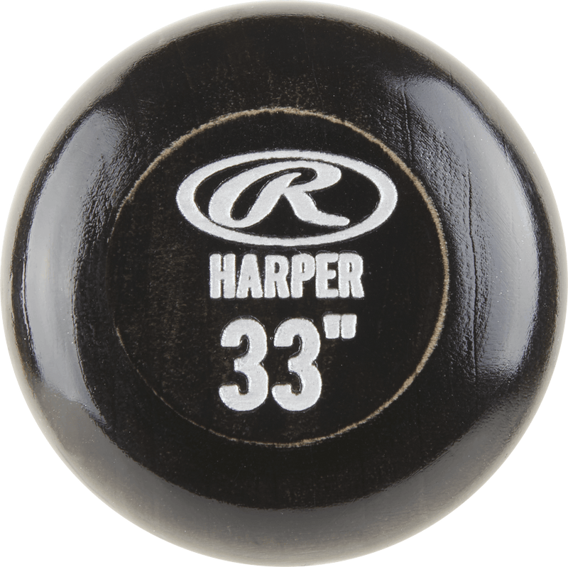 2018 Rawlings Pro Label Bryce Harper Game Day Maple Wood Baseball Bat: BH34PL