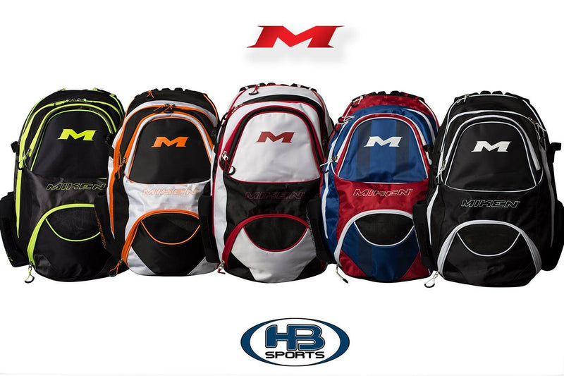 Miken XL Baseball and Softball Backpack: MKBG18-XL