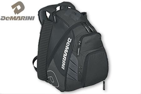 Black DeMarini VooDoo Rebirth Equipment Backpack WTD9105 at Headbangersports.com