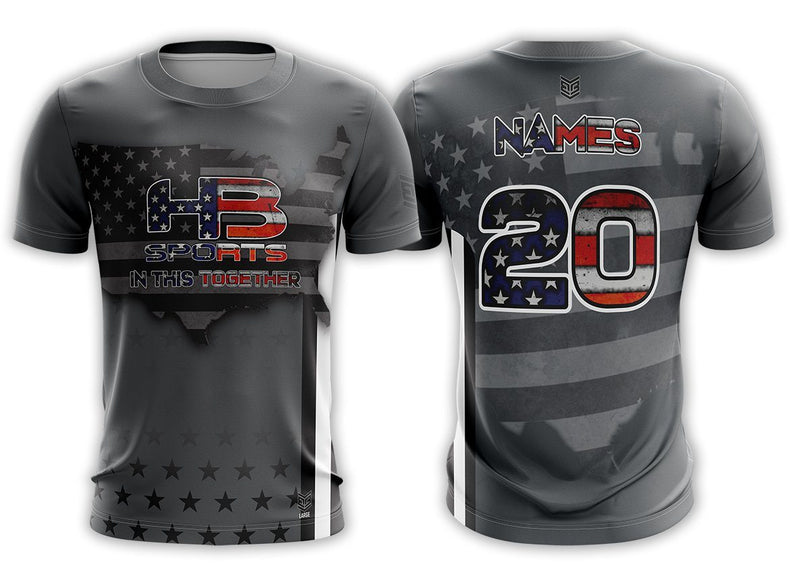 "HB Sports ""In This Together"" Custom Short Sleeve Jersey Buy In"