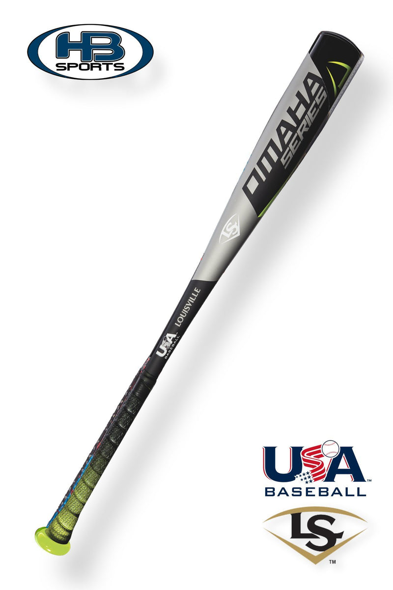 "2018 Louisville Slugger OMAHA 518 (-10) 2 5/8"" USA Baseball Bat: WTLUBO518B10 at headbangersports.com"