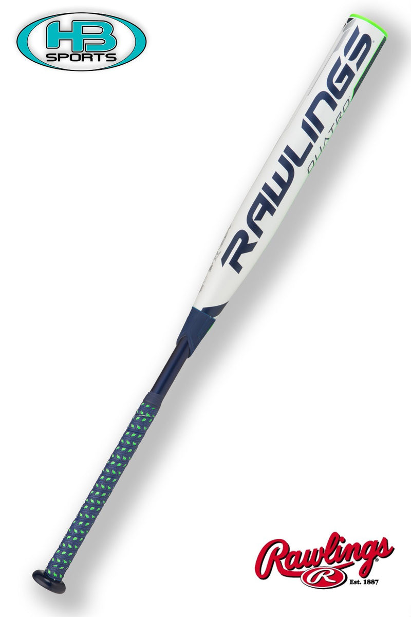 2018 RAWLINGS QUATRO FASTPITCH BAT (-10) at Headbangersports.com