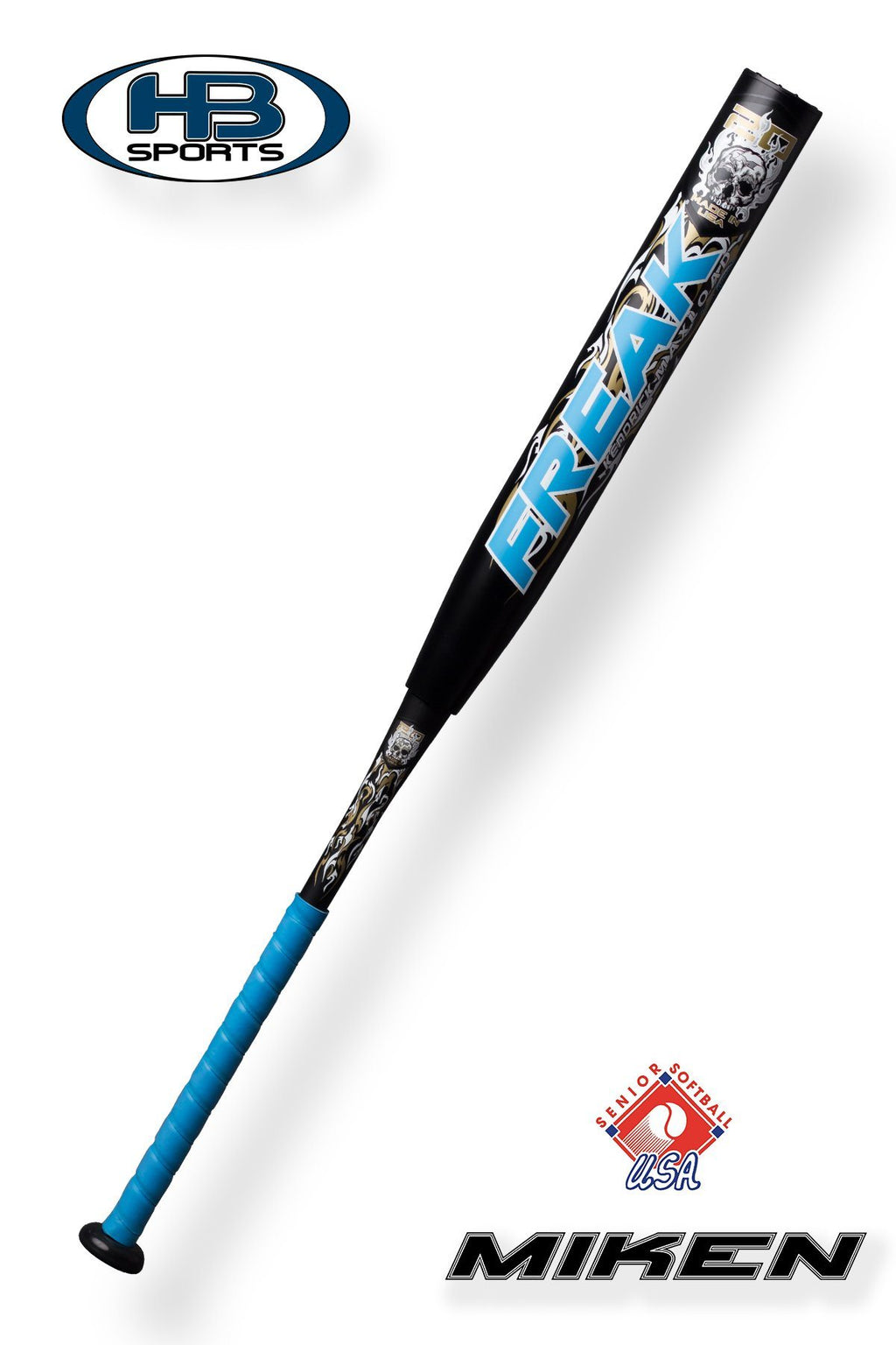 "2018 Miken 20th Anniversary SSUSA 14"" Jason Kendrick MAXLOD Softball Bat: M20MSS"