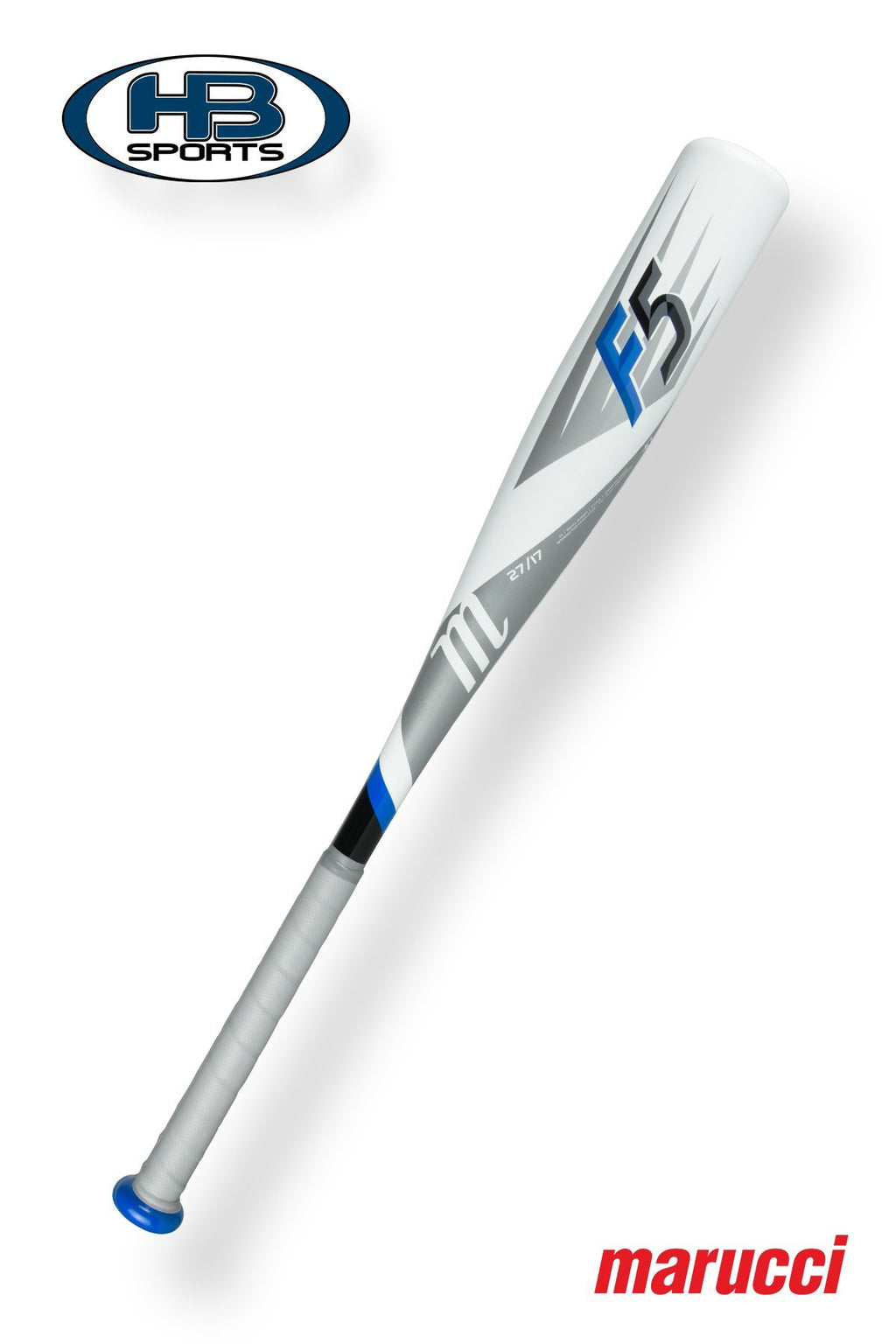 "2018 Marucci F5 (-10) 2 3/4"" Junior Big Barrel Baseball Bat: MJBBF5 at headbangersports.com"