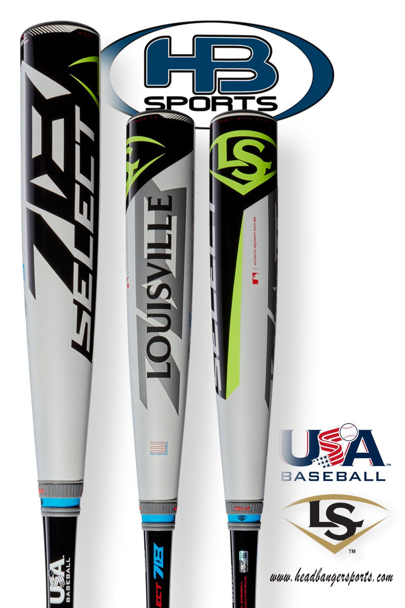 2018 Louisville Slugger Select 718 (-5) USA Baseball Bat: WTLUBS718B5 at headbangersports.com.
