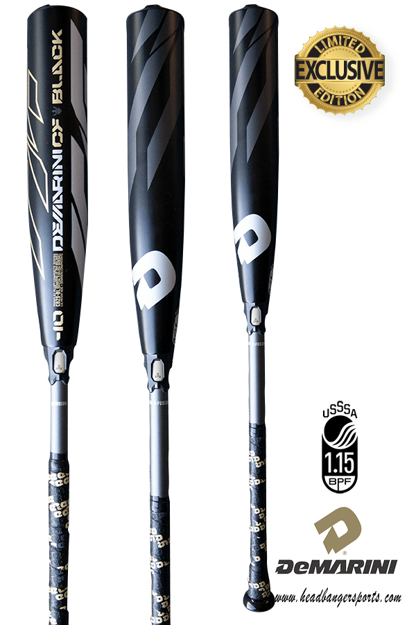 2019 DeMarini CF Zen Black (-10) USSSA Baseball Bat: WTDXCBZ-BL at headbangersports.com