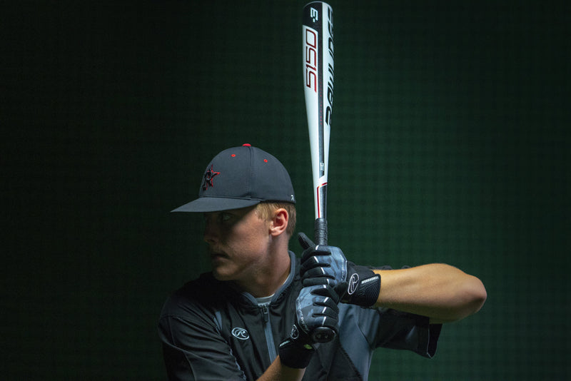 Live Action Shot of 2019 Rawlings 5150 (-3) BBCOR Baseball Bat: BB953