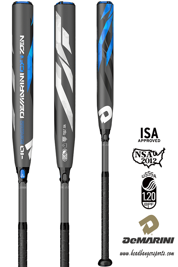 2019 DeMarini CF Zen (-10) Fastpitch Bat: WTDXCFP at headbangersports.com