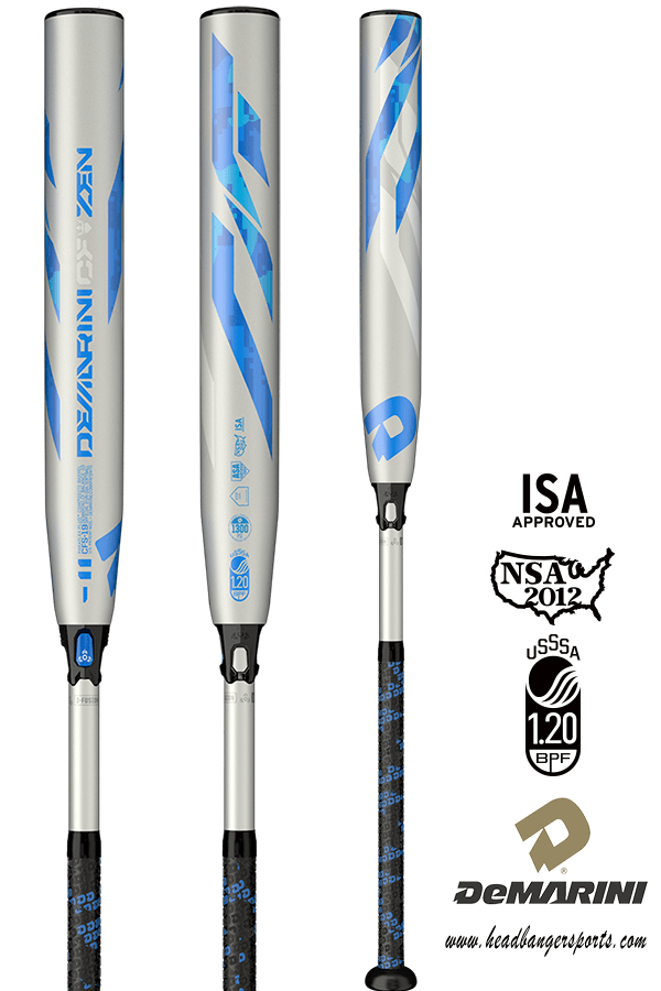 2019 DeMarini CF Zen (-11) Fastpitch Bat: WTDXCFS at headbangersports.com