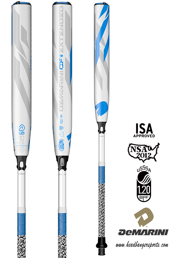 2019 DeMarini CF-XD Extended Barrel (-10) Fastpitch Softball Bat: WTDXCFE-19 at headbangersports.com