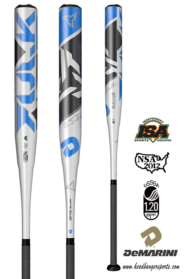 2019 DeMarini BJ Fulk USSSA Slowpitch Softball Bat: WTDXBJU-19 at headbangersports.com