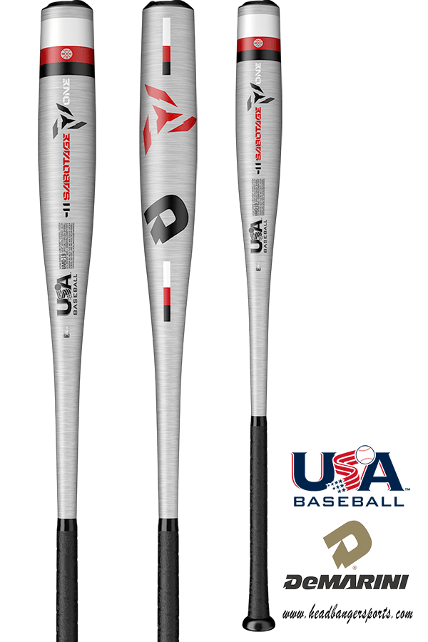 2019 DeMarini Sabotage ONE (-11) USA Baseball Bat: WTDXUMO