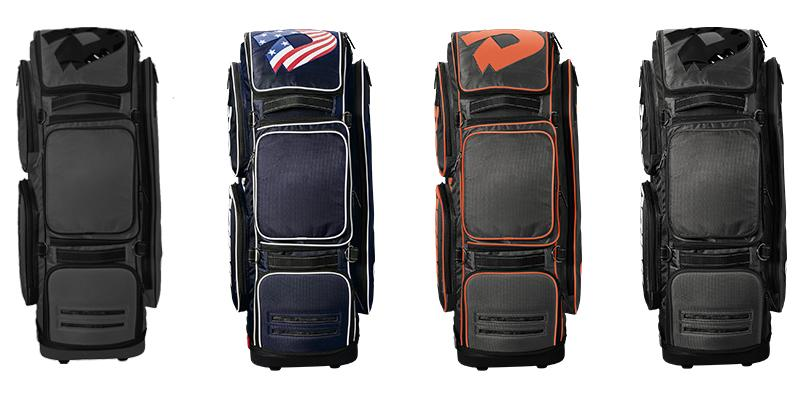 DeMarini Special Ops Baseball and Softball Wheeled Roller Bag: WTD9409
