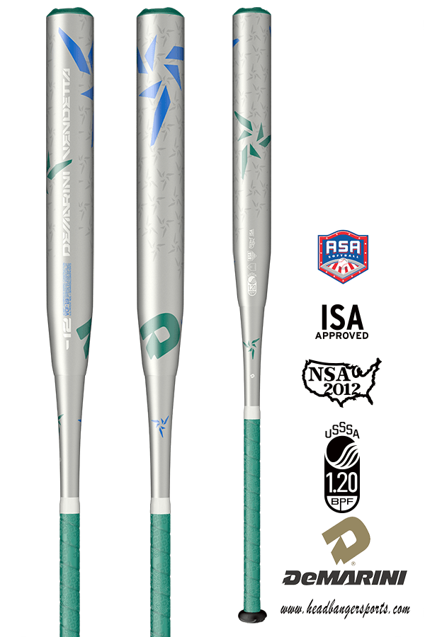 2019 DeMarini Vendetta (-12) Fastpitch Softball Bat: WTDXVCF at headbangersports.com