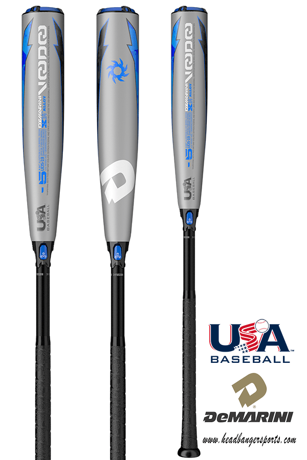 2019 DeMarini Voodoo (-5) USA Baseball Bat: WTDXUD5 at headbangersports.com