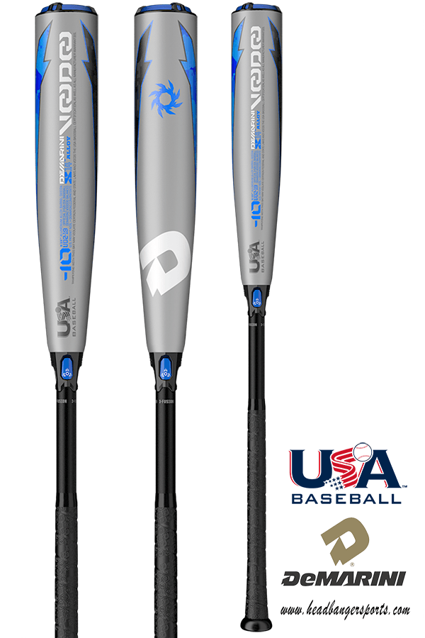 2019 DeMarini Voodoo (-10) USA Baseball Bat: WTDXUD2-19 at headbangersports.com