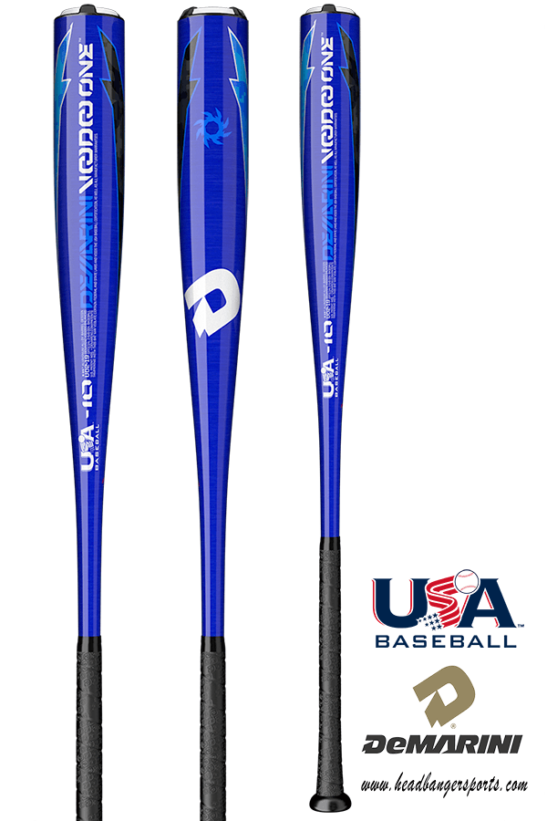 2019 DeMarini Voodoo One -10 USA Baseball Bat: WTDXUO2-19 at headbangersports.com