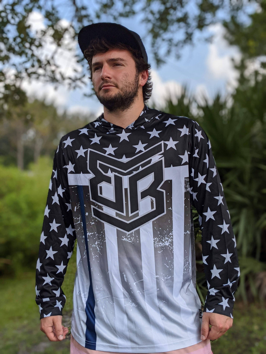 Banger Brand Exclusive Lightweight Long Sleeve Hoodie: Honor the Badge