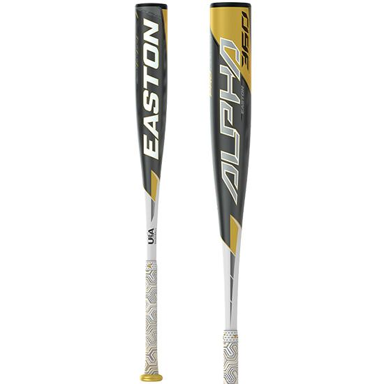 "2020 Easton Alpha 360 (-8) 2 5/8"" USA Baseball Bat: YBB20AL8"