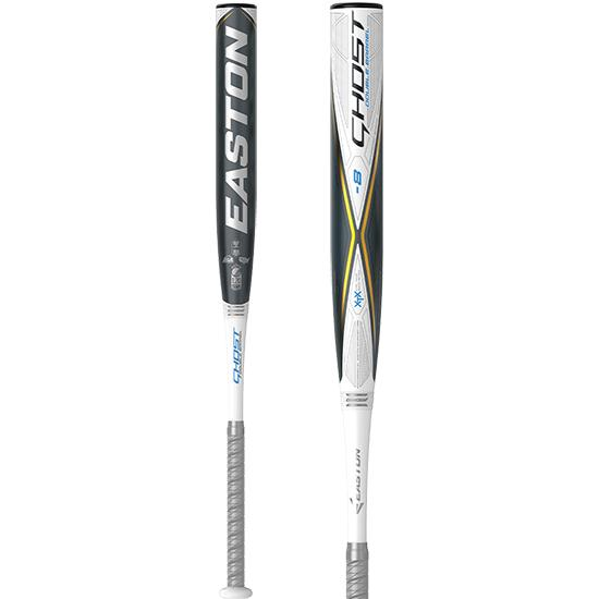 2020 Easton Ghost Double Barrel (-8) Fastpitch Softball Bat: FP20GH8