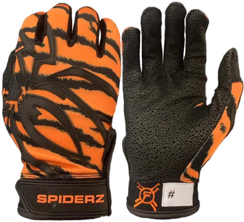 "2020 Spiderz Pro Signature Series Batting Gloves: ""El Felino"""