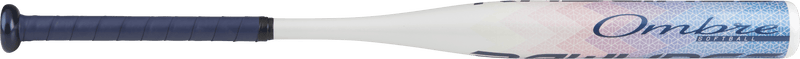 Ombre Side View of 2018 Rawlings OMBRE (-11) Fastpitch Softball Bat: FP8O11