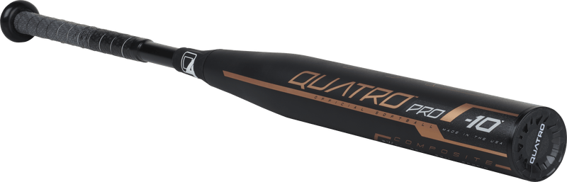 2018 Rawlings Quatro Pro Fastpitch Softball Bat -10: FPQP10 at headbangersports.com