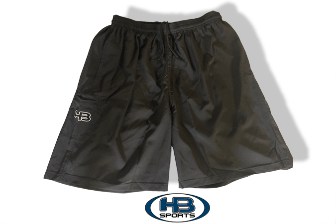 Black Four Way Stretch Shorts at Heaabangersports.com