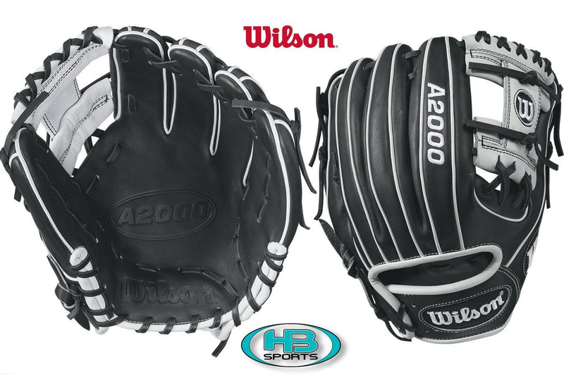 Wilson A2000 WTA20RB171788 Baseball Glove Black at Headbangersports.com