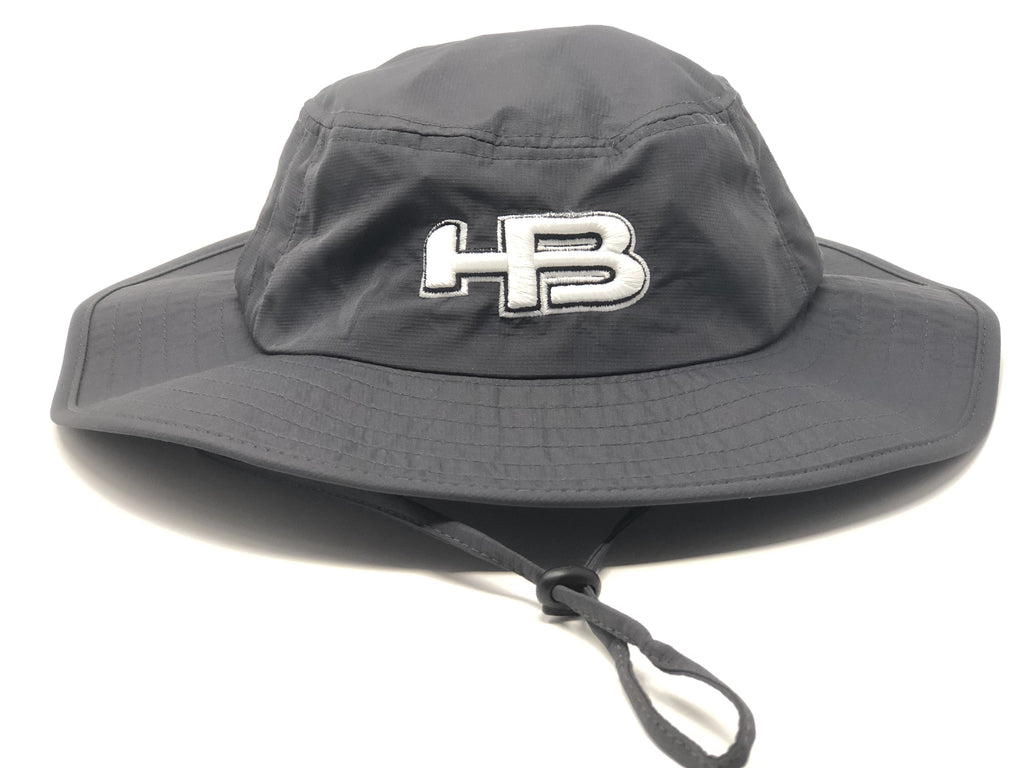 HB Sports Exclusive Pacific 1946 Boonie Bucket Cap: Dark Grey