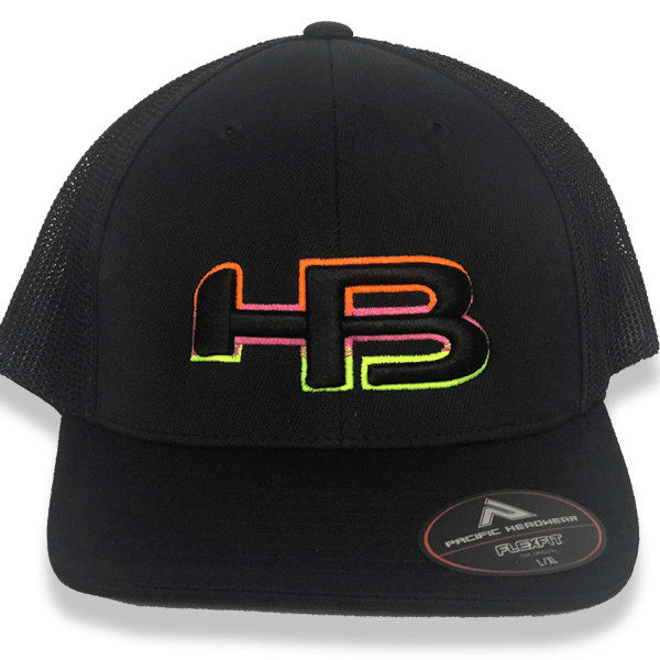 HB Exclusive Pacific 404M Fitted Hat: Lemonade at headbangersports.com