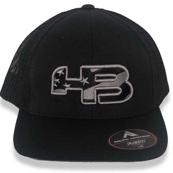 HB Exclusive USA Flag Pacific 404M Fitted Hat: Mr. Smith