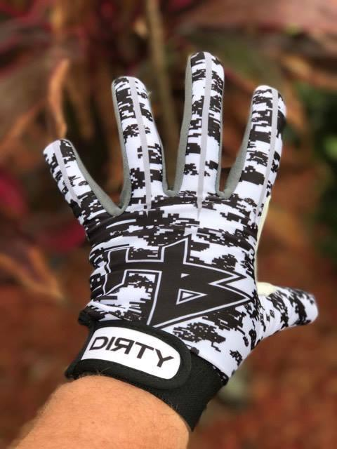 HB Sports Black Digi Camo Batting Gloves