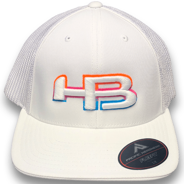 HB Exclusive Pacific 404M Fitted Hat: South Beach