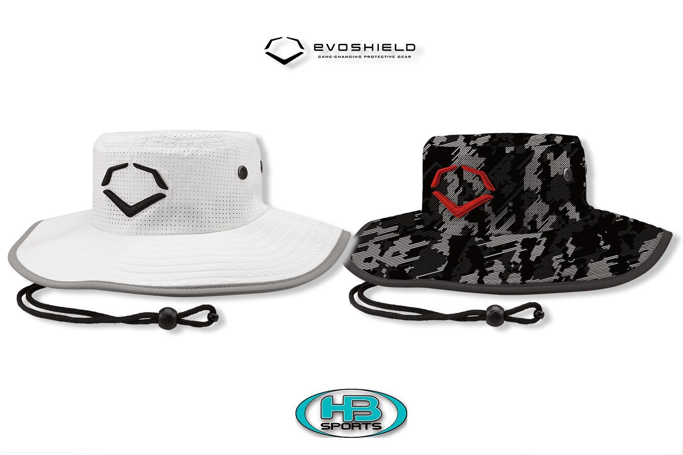 EvoShield Logo Baseball and Softball Bucket Hat at Headbangersports.com ... 3e72370947a