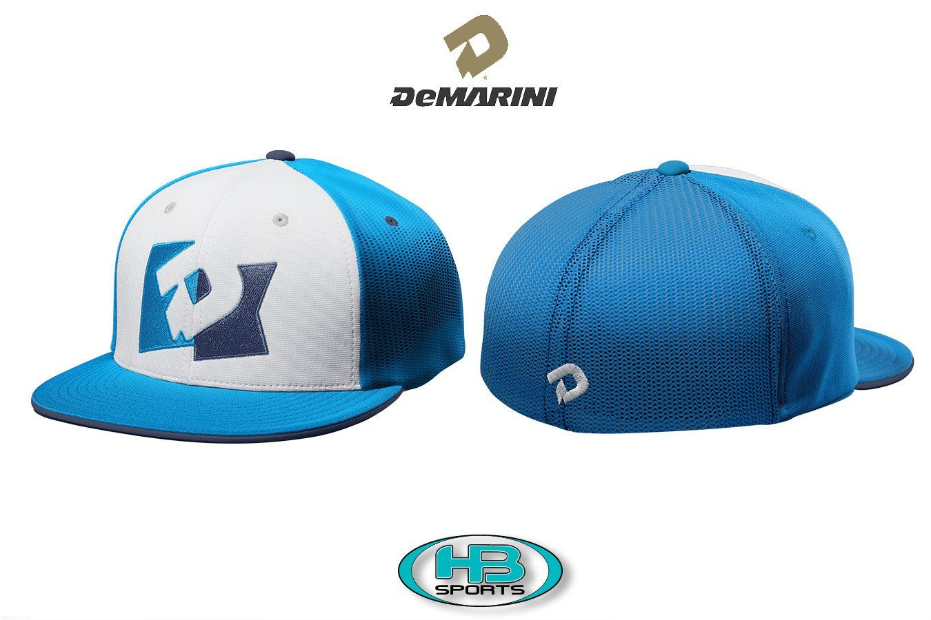 ae4b083c74a272 DeMarini D-Pennant FLEXFIT Fitted Baseball and Softball Hat ...