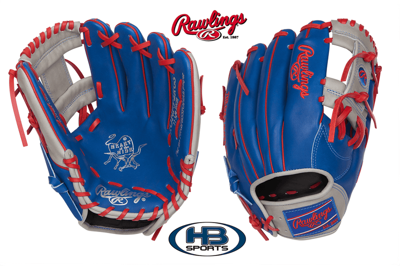 "Rawlings Heart of the Hide Color Sync 2.0 11.75"" Baseball Glove: PRONP5-2RGS at headbangersports.com"