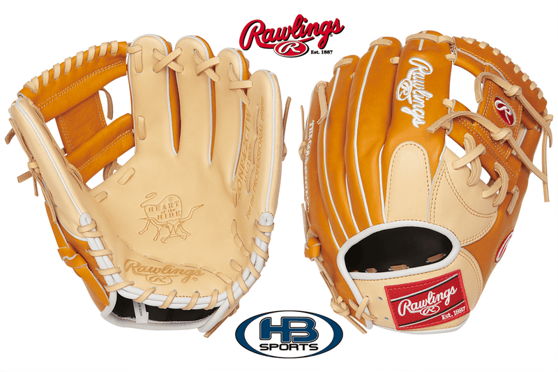 "Rawlings Heart of the Hide 11.5"" Infield Baseball Glove: PRONP4-2CTW"