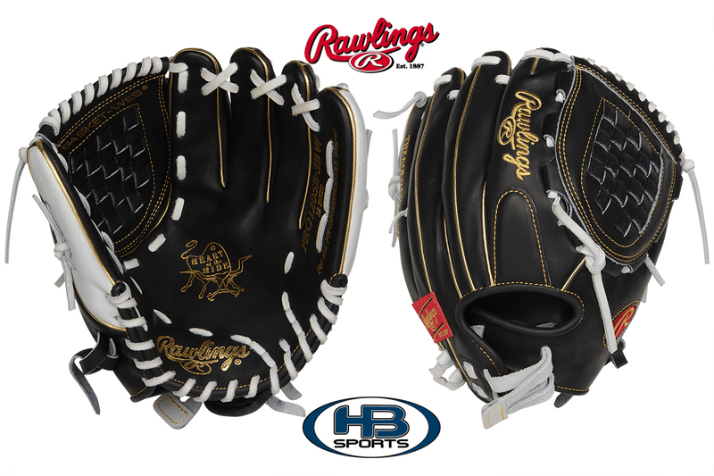 "Rawlings Heart of the Hide 12"" Fastpitch Softball Glove: PRO120SB-3BW at headbangersports.com"