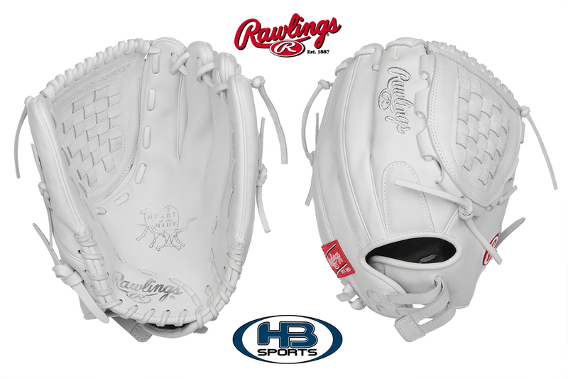 "Rawlings Heart of the Hide 12.5"" Fastpitch Softball Glove: PRO125SB-3W at headbangersports.com"