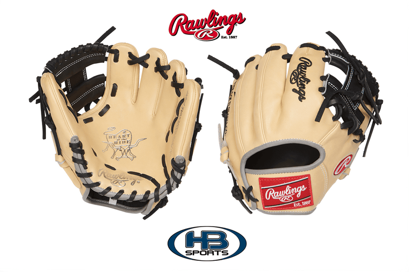 "Rawlings Heart of the Hide 9.5"" Training Glove: PRO200TR-2C at headbangersports.com"