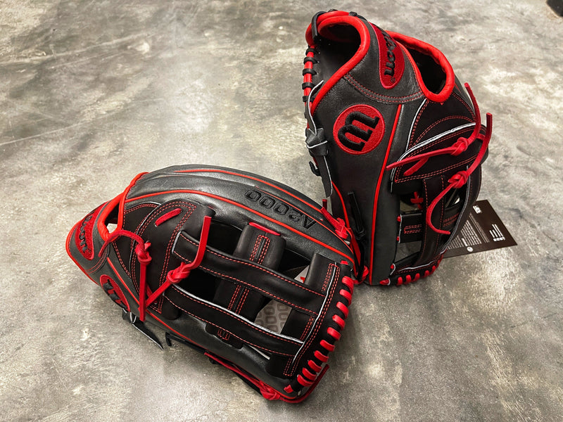 "Headbanger Sports Exclusive Custom Wilson A2000 1799 12.75"" H-Web Glove"