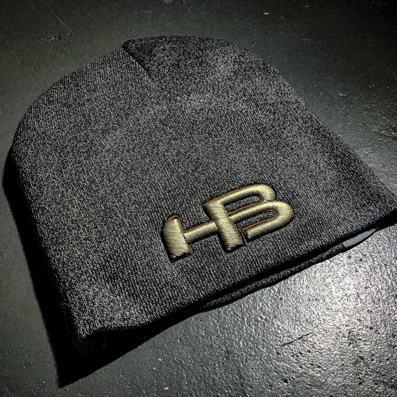 HB Sports Classic Skull Cap Beanie Winter Hat
