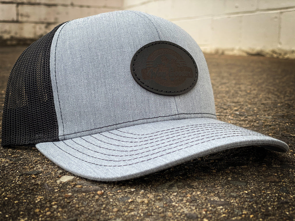Headbanger Sports WAY GOODER Lifestyle Snapback Hat: Black & Heather Grey